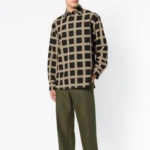 $1040 NWT Marni check shirt